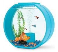 """Аквариум АА-Aquariums Disney """"Nemo"""", 20л, бирюзовый, 395*187*375мм"""