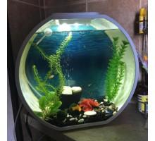Аквариум AA-Aquariums Deco O Mini UPG, 10л, ,белый, 335*136*310мм