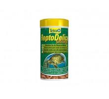 Tetra ReptoMin Delica Shrimps креветки лакомство для водных черепах 1 л