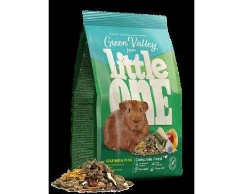 Корм Little One ( Литл Он ) Зеленая долина для морских свинок 750 гр