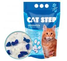 Наполнитель для кошачьих туалетов Cat Step 3,8л, силикагелевый впитывающий