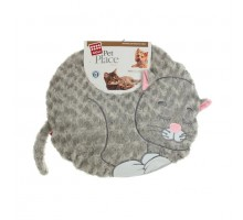 "Лежанка GIGWI с дизайном ""Кошка"" 57 см"