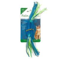 Feline Clean игрушка для кошек Dental Конфетка прорезыватель с лентами, резина