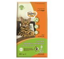 Мнямс Active Life Сухой корм с кроликом для взрослых кошек 400 г