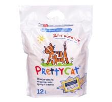 """PrettyCat наполнитель древесный для котят """"Wood Granules"""" 12 л"""