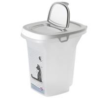 Moderna Cats in Love контейнер для корма 21x27x27h см, серый, 6 л