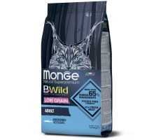 Monge BWild Cat Anchovies корм для взрослых кошек с анчоусами 1,5 кг