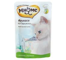 Мнямс паучи для кошек Фрикасе по-парижски (кролик с травами) 85 г * 12 шт