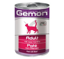 Консервы Gemon (Гемон) для кошек паштет говядина 400 г