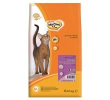 Мнямс Hairball&Indoor Сухой корм с ягненком для домашних кошек для выведения комков шерсти из желудка 10 кг
