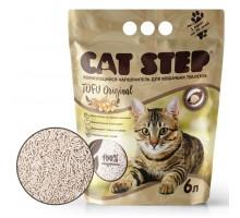 Наполнитель для кошачьих туалетов Cat Step Tofu Original 12L, растительный комкующийся