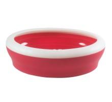 United Pets туалет-лоток для кошек Viccì-cat, 53х40х16, красный