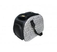 Ibiyaya складная сумка-переноска для собак и кошек до 6 кг сафари