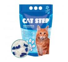 Наполнитель для кошачьих туалетов Cat Step 3л, силикагелевый впитывающий