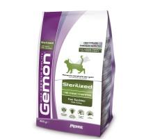 Сухой корм для кошек Gemon Cat Sterilised для стерилизованных кошек с индейкой 400 г