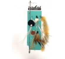 Дразнилка для кошек Aromadog PETPARK сменные кисточки