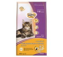 Мнямс Kitten Сухой корм для котят с индейкой 400 г
