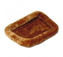 Лежанка Midwest Pet Bed меховая 107х66 см коричневая