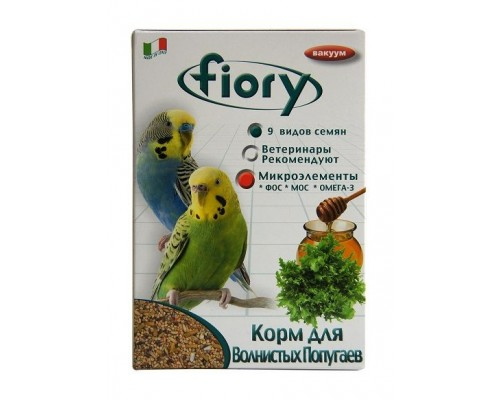 Корм FIORY для волнистых попугаев Pappagallini 1 кг