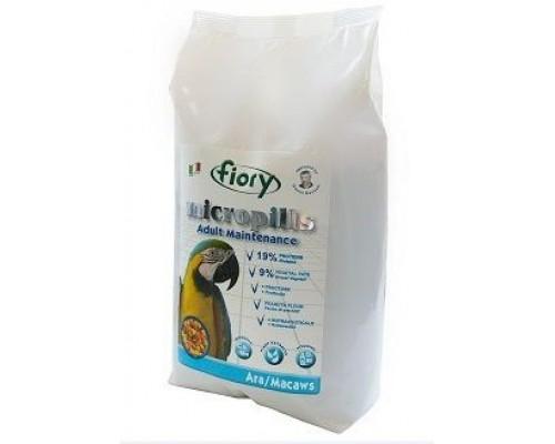Корм FIORY для попугаев Ара Micropills Ara/Macaws 1,4 кг