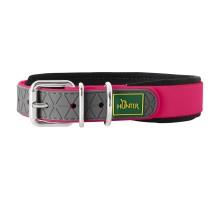 Hunter oшейник для собак Convenience Comfort 45/S-M (32-40 см) ягодный розовый