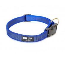 JULIUS-K9 ошейник для собак Color & Gray (39-65см/2,5см), сине-серый