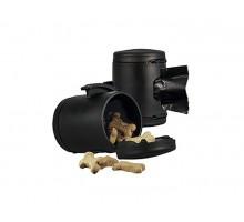 flexi аксессуар Multi box S-М/L (бокс для лакомств или пакетиков для сбора фекалий) черный