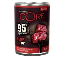 CORE 95 консервы из говядины с брокколи для взрослых собак 400 г*6 шт