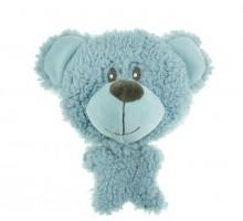 Игрушка для собак AROMADOG BIG HEAD Мишка 12 см голубой