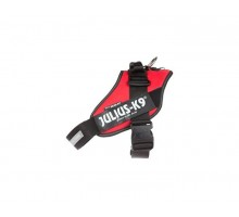 JULIUS-K9 шлейка для собак IDC®-Powerharness 0 (58-76см/ 14-25кг), красный