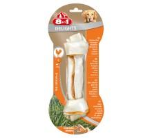 8in1 DELIGHTS L косточка с куриным мясом для крупных собак 21 см