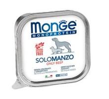 Паштет для собак Monge Dog Monoproteico Solo из говядины грамм * 24 штуки