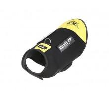 JULIUS-K9 жилет для собак Neoprene IDC® L (70-82см / длина 49см), черно-желтый