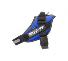 JULIUS-K9 шлейка для собак IDC®-Powerharness 0 (58-76см/ 14-25кг), синий