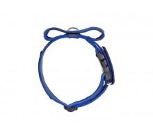 JULIUS-K9 ошейник для собак Color & Gray (47-67см/5см), закрытая ручка + скрытый локер, синий