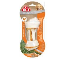 8in1 DELIGHTS M косточка с куриным мясом для средних и крупных собак 14,5 см