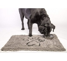 Коврик для собак супервпитывающий Dog Gone Smart Doormat L, 66*89см, серый