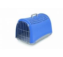 Переноска IMAC (Имак) LINUS д/кошек васильковый, 50х32х34,5см