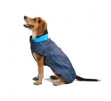 Плащ-дождевик Dog Gone Smart NanoBreaker, 26', синий