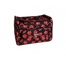 Wahl Paw print bag сумка с лапами 39x25x27,5 см (с красными лапками)