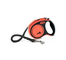 flexi рулетка Xtreme S (до 20 кг) 5 м лента оранжевая