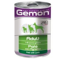 Паштет Gemon Dog для собак паштет ягненок 400 г