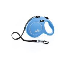 flexi рулетка New Classic L (до 50 кг) лента 5 м синяя