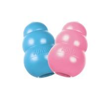 Игрушка для собак KONG PUPPY для щенков CLASSIC M 8Х5 СМ, розовый и голубой