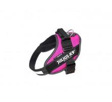 JULIUS-K9 шлейка для собак IDC®-Powerharness 0 (58-76см/ 14-25кг), темно-розовый