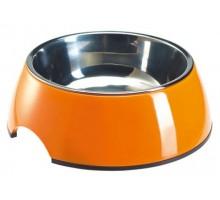 Миска для собак SUPERDESIGN 350 мл, /оранжевая