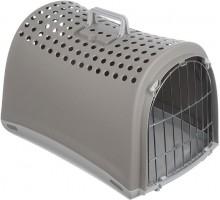 Переноска IMAC (Имак) LINUS д/кошек бежево-серый, 50х32х34,5см