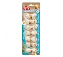 8in1 DENTAL DELIGHTS XS косточки с куриным мясом для мелких собак с минералами 7,5 см 7 шт