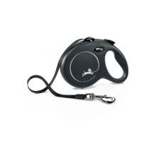 flexi рулетка New Classic L (до 50 кг) лента 5 м черная