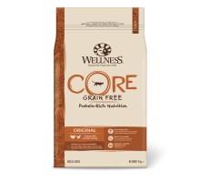 Сухой корм Wellness Core Original беззерновой для взрослых кошек, индейка с курицей, 10 кг